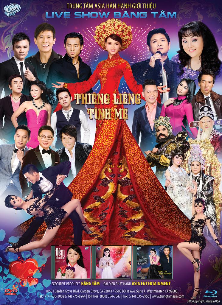 Liveshow Băng Tâm – Thiêng Liêng Tình Mẹ